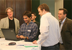 Delegates at Planning the Future with Planets, Vienna, April 2008